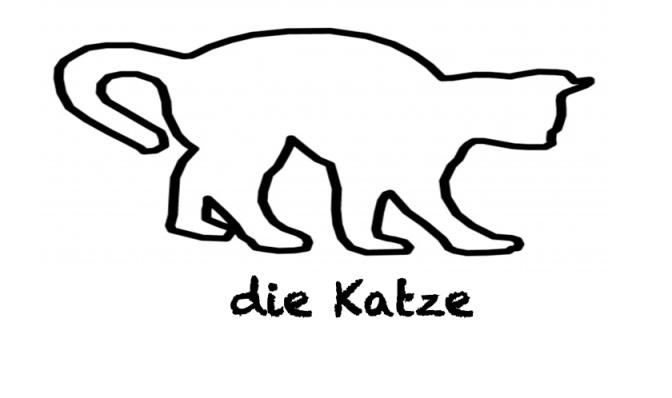 """Modo di dire con """"Katze"""""""