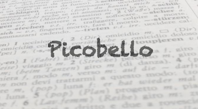 """Parola del giorno: """"picobello"""""""