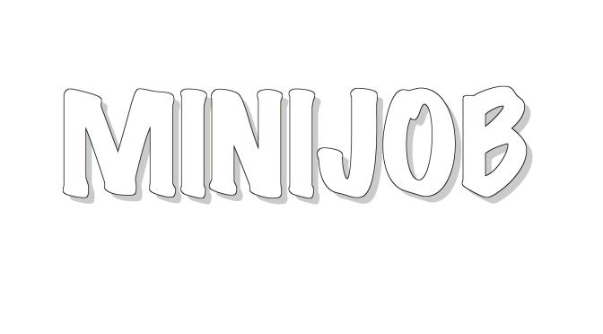 """Che cos'è il """"Minijob""""?"""