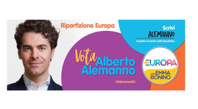 Intervista a Alberto Alemanno, capolista al Senato per 'Più Europa con Emma Bonino' nella circoscrizione Europa