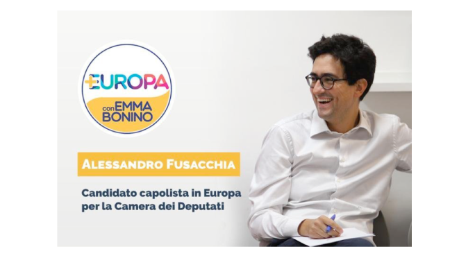 Intervista a Alessandro Fusacchia, capolista alla Camera per 'Più Europa con Emma Bonino' nella circoscrizione Europa