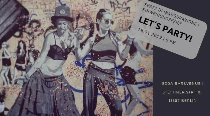 Ariadne | Rete Italia Berlino vi invita alla festa di lancio delle sue attività