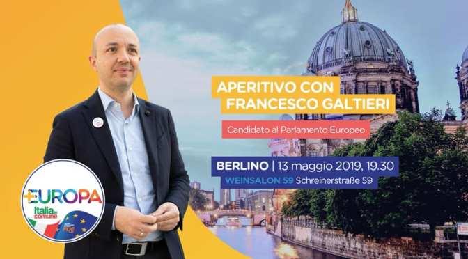 APERITIVO ELETTORALE CON PIÙ EUROPA | BERLINO